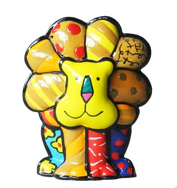 Romero Britto - Mini Lion Lucky Figurine