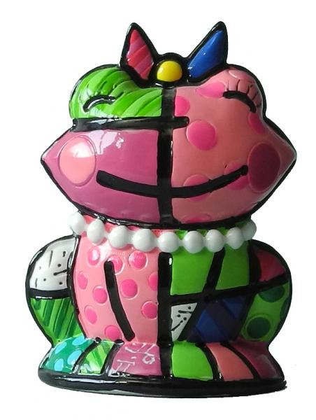 Romero Britto - Mini Frog Lucky Figurine