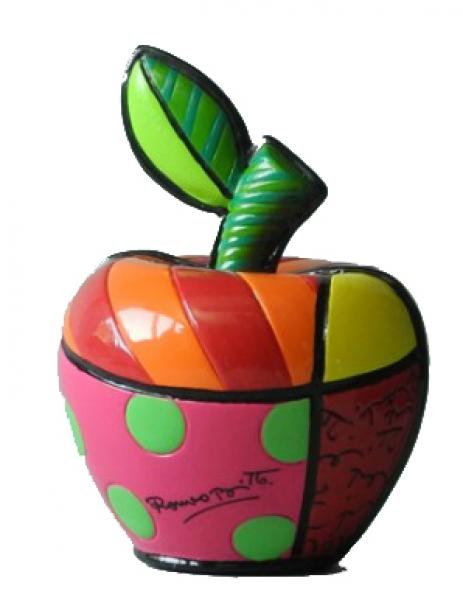 Romero Britto - mini apple lucky figurine