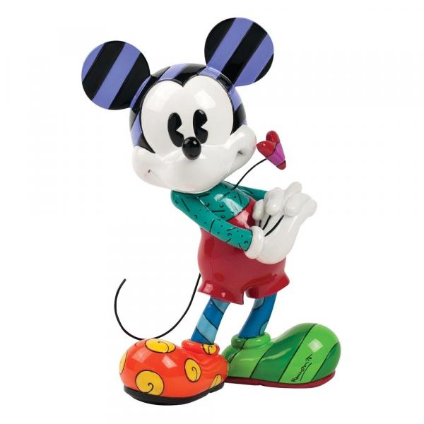 Romero Britto - Mickey with Heart Figurine