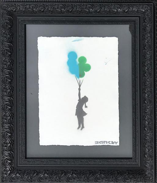 Banksy - Girl with Balloons I