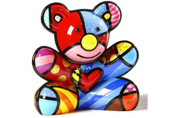 Romero Britto - Cuddly Bear