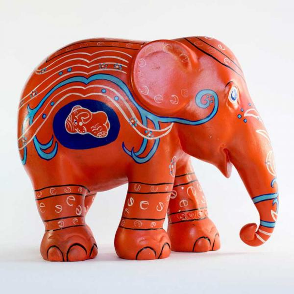 Elephant Parade - Happiness is Being Born in Love L 20cm