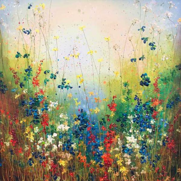 Yulia Muravyeva - The Blue Flowerfield