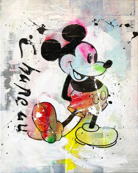 Ronald Chapeau - the Love of Mickey