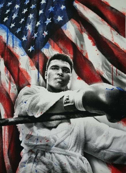 MR Brainwash - MR Brainwash Muhammad Ali American Hero