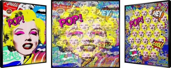 Patrick Rubinstein - Marilyn Pop