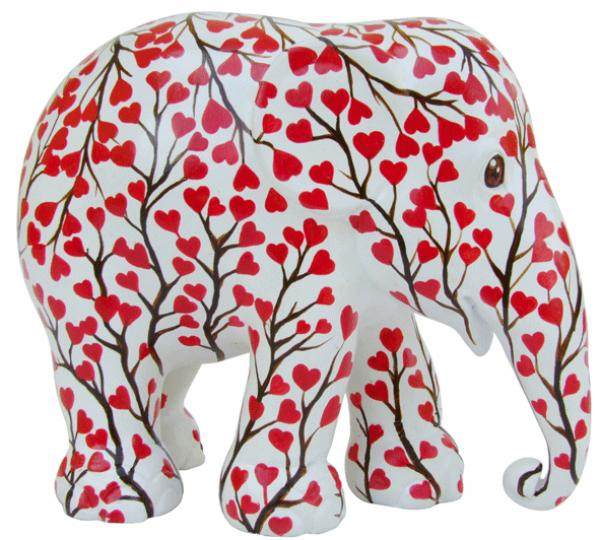 Elephant Parade - Love Flowers  L