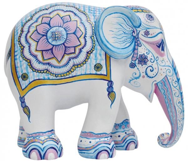 Elephant Parade - Indian Blues M
