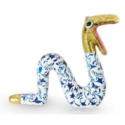 Moving Snake Delft's Blue gold M