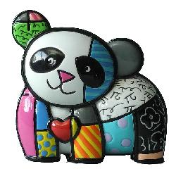 mini panda lucky figurine