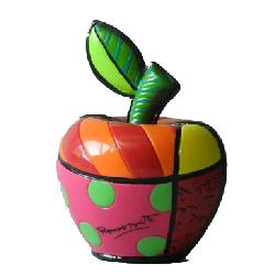 mini apple lucky figurine