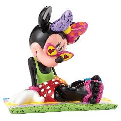 Beach Bunny Minnie Mouse Figurine