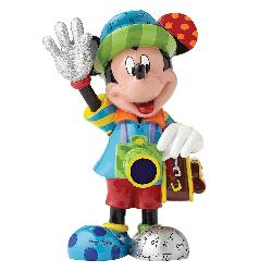 Mickey Mouse Tourist Figurine