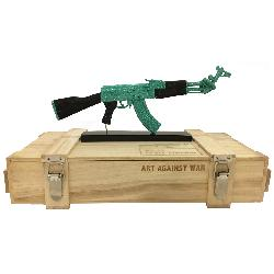 ART AGAINST WAR / AK 47 PEACE EDITION GREEN