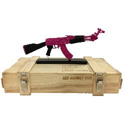 ART AGAINST WAR / AK 47 PEACE EDITION PURPLE