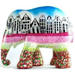 Elephant Parade - Greetings from holland XL 30 cm