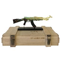 AK 47 Love and Peace  ART AGAINST WAR