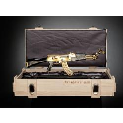 AK 47 Peace Edition Gold