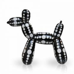 Balloondog Black White Dots S