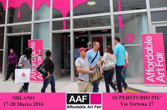 Deelname The Art Shop aan AAF Milaan 2016
