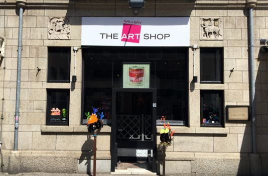 The Art Shop Amsterdam Nu op de Hobbemastraat 9